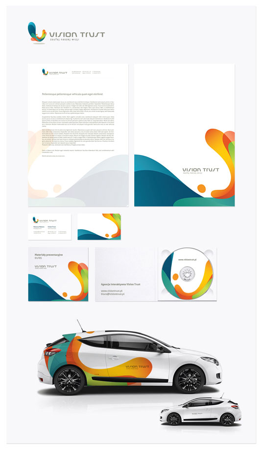 letterhead and business card 10